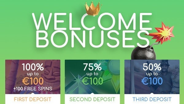 Loki Casino Welcome Bonus