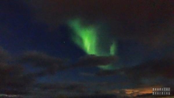 Zorza polarna - Islandia