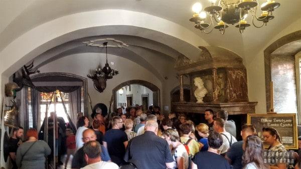Zwiedzanie komnat, Zamek Czocha