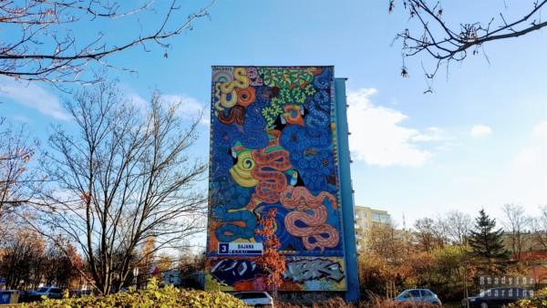 Murale na Osiedlu Zaspa - Trójmiasto