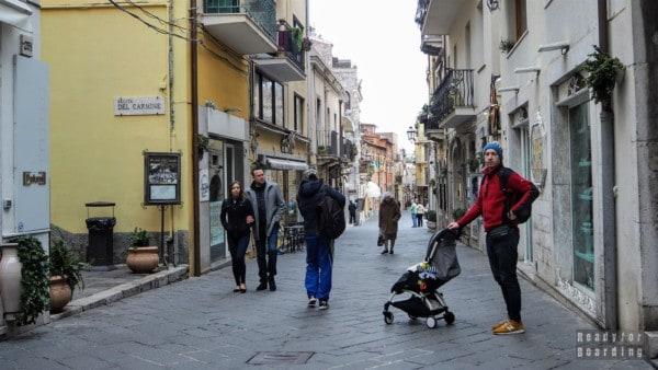 Corso Umberto, Taormina - Sycylia