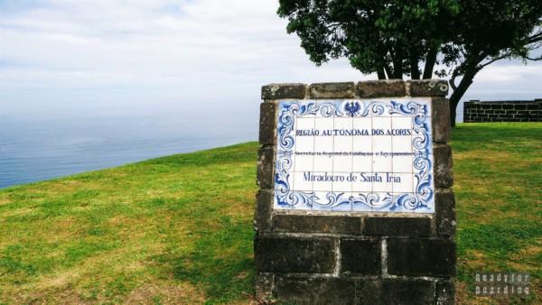 Miradouro De Santa Iria - São Miguel, Azory