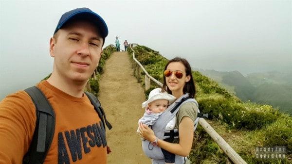 Ścieżka do Szlak do Miradouro da Boca do Inferno, Azory