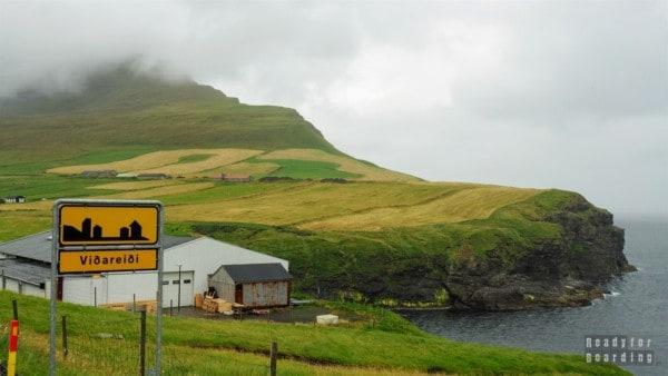 Viðareiði na wyspie Viðoy - Wyspy Owcze