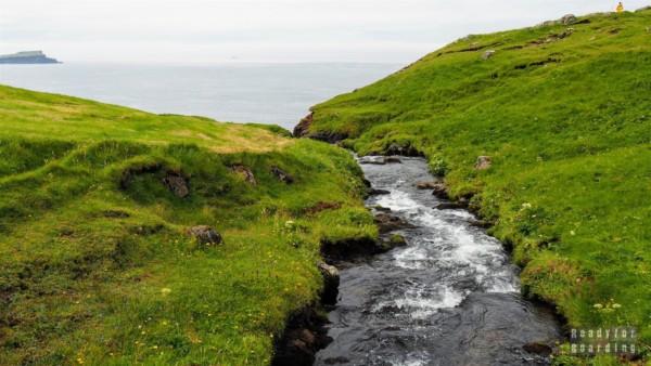 Wodospad Mulafossur, Vágar - Wyspy Owcze