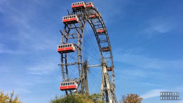 Ferris wheel, Prater Park, Wiedeń - Austria