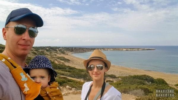 Plaża i półwysep Lara - Cypr