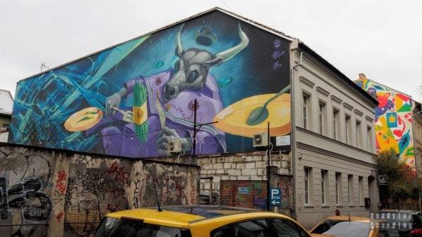 Murale w Budapeszcie - Węgry