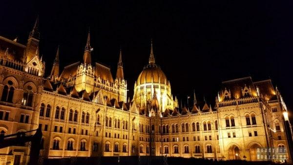 Parlament nocą, Budapeszt - Węgry