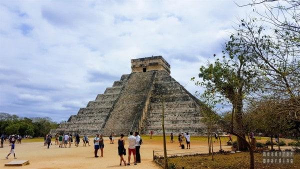 Pirámide de Kukulkán, Chichén Itzá - Meksyk