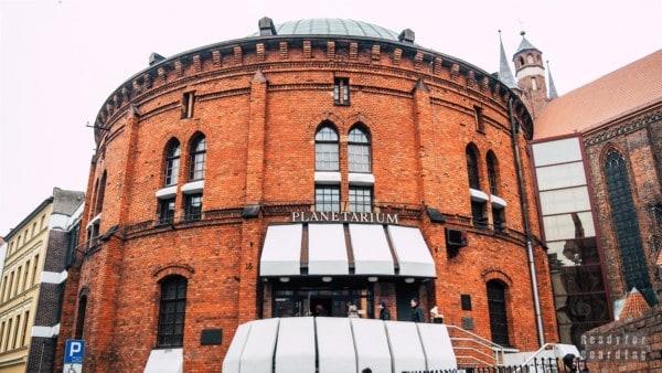 Planetarium w Toruniu, Polska