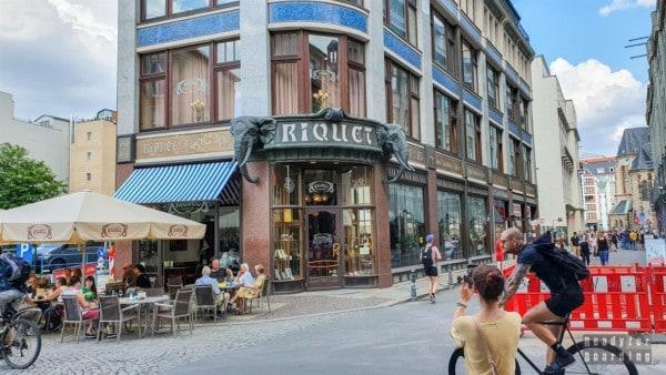 Kawiarnia Riquet, Lipsk - Niemcy