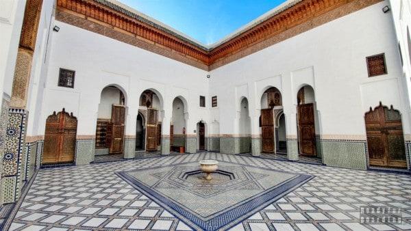 Muzeum Dar Si Said w Marrakeszu - Maroko