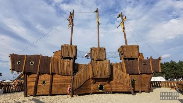 Zatoka Bajka - pole namiotowe i hotel Bajka
