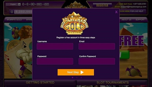 Claim 50 free spins on Microgaming slot!