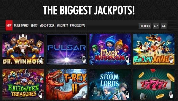 Real Time Gaming jackpot slot free bonus