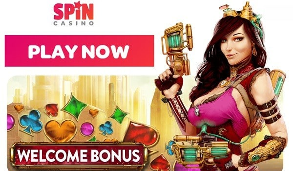 Register for free and get 100 free spins on Jackpots!