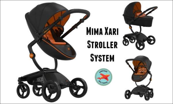 Travel Stroller for Baby Yoda - the Mima Xari Stroller System