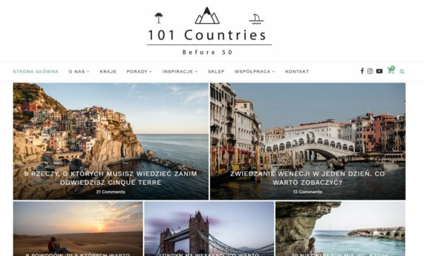 101 Countries Before 50