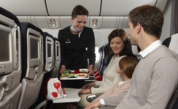 best airlines for families, air france with baby