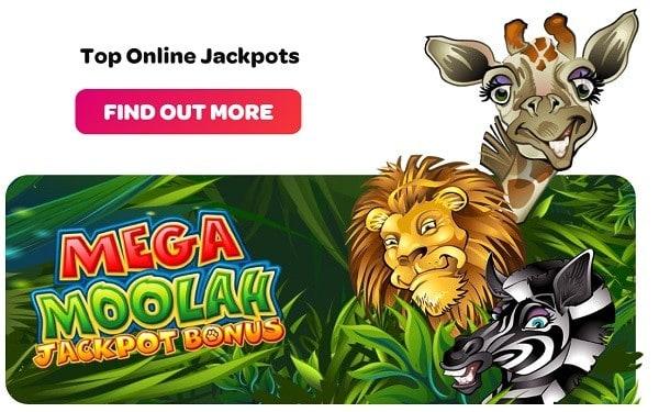 Progressive Jackpot Mega Moolah Game