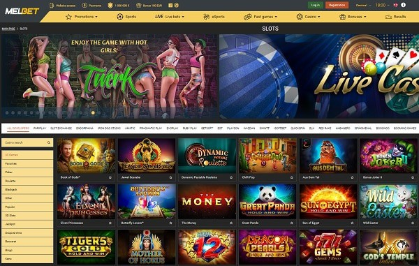 MELBET CASINO REVIEW - free spins wager-free bonus