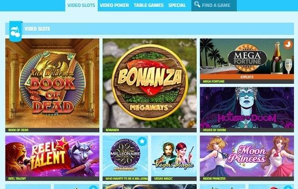 Casino JEFE slots, table games, jackpots, live dealer