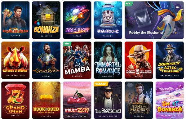 TrueFlip.io Casino Games
