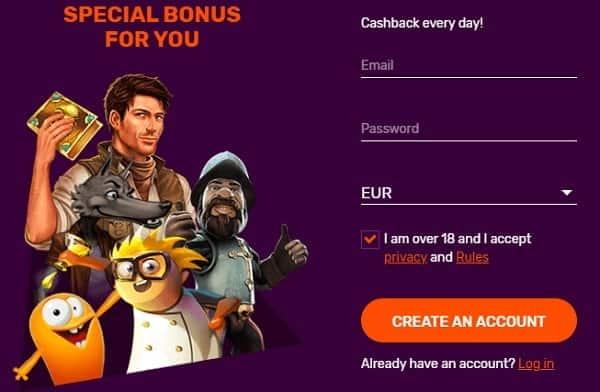 Sign Up Bonus No Deposit Needed