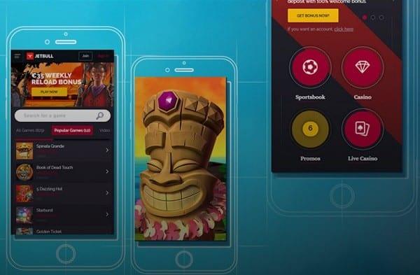 Jetbull Mobile Casino 200 free spins bonus