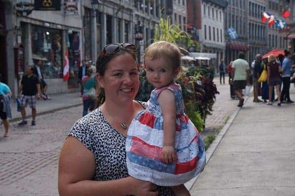 Eastern Canada road trip, quebec city, quebec city with baby