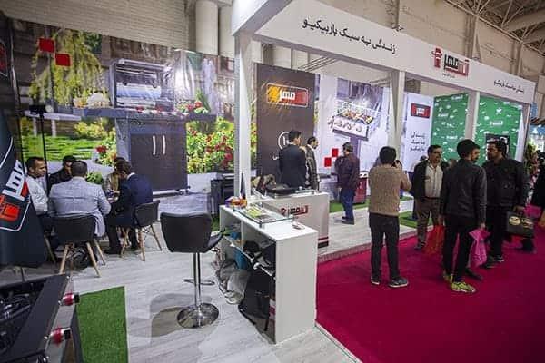پوشش خبری آتش مهر (تولیدکننده کباب پز و باربیکیو ) در نمایشگاه تهران آبان ماه 98