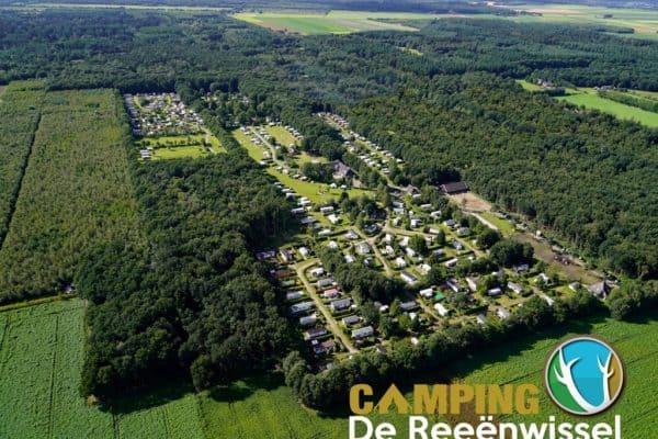 Camping Reeenwissel Luchtfoto 2021