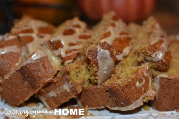 Do you love Pumpkin Spice Latte? If so, here is a delicious quick bread recipe that is perfect for fall, the holidays, or just about any time of year.