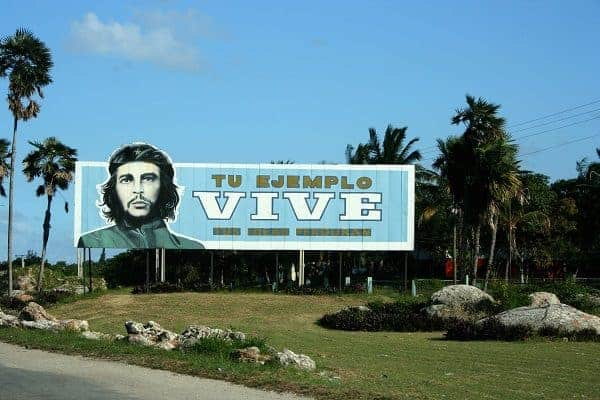 first family vacation, first vacation with baby, che billboard, che in cuba