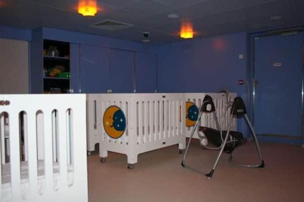 disney fantasy it's a small world nursery nap area