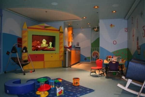 disney fantasy it's a small world nursery play area