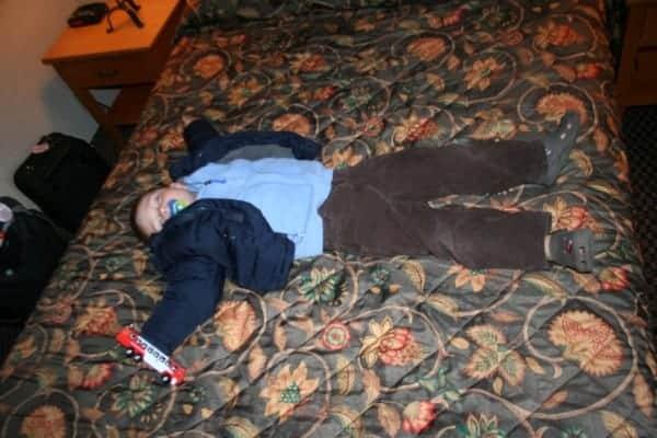 douglas fir resort, douglas fir nap, banff with a toddler, banff with toddlers