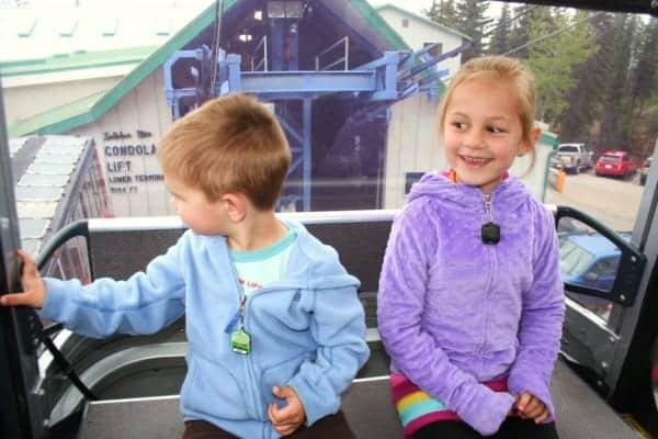 sulphur mountain gondola, sulphur mountain banff, sulphur mountain gondola, banff gondola, banff with toddlers