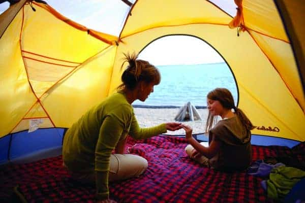 things to do in north dakota, things to do in north dakota with kids, camping in north dakota, camping with kids in north dakota