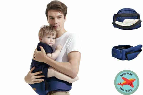 stroller alternative, hip carrier, hip carrier for toddler, toddler carrier for travel