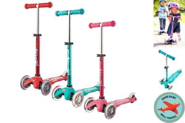 stroller alternative, stroller alternatives, travel with scooter, travel scooter, scooter for travel, stroller alternative for travel, stroller alternatives for travel