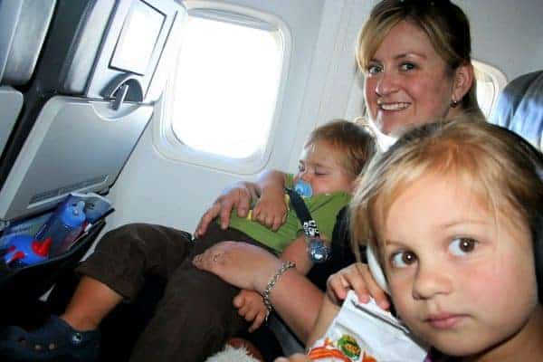 westjet with a baby, westjet with a toddler, flying with a baby on westjet, flying westjet with a baby