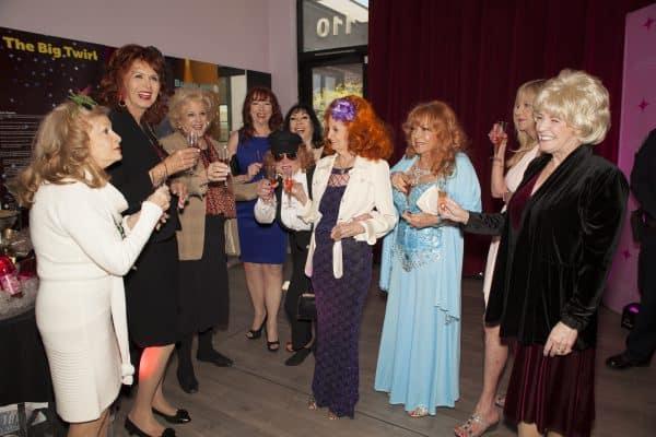 Legendary performers toast with Las Vegas Mayor Carolyn Goodman
