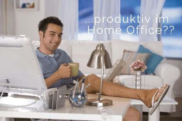 Im HomeOffice produktiv bleiben