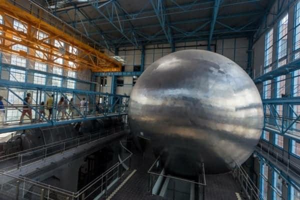 Łódź, Planetarium EC1 - Autor: https://www.fb.me/lodzpl