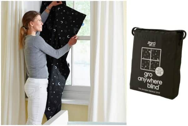 baby travel bed, travel blackout blind