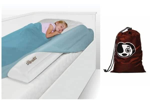 baby travel bed, travel bed rails, inflatable travel bed rails