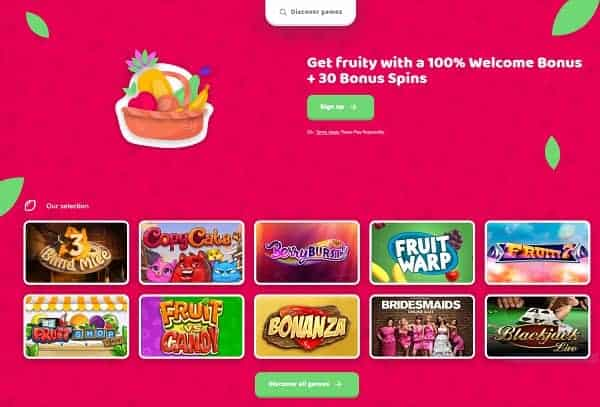 Fruity Casa Casino Online and Mobile