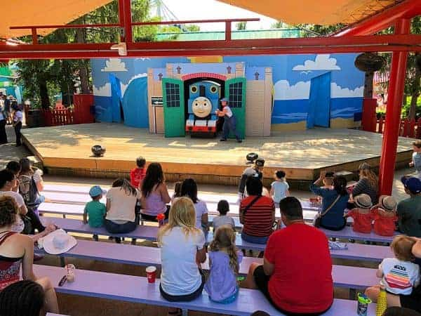 Thomas and Friends at KidZville Canadas Wonderland